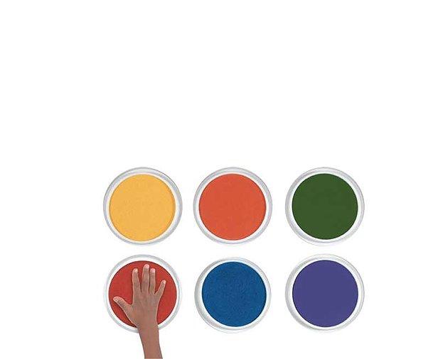Set 6 culori gigantice tip pad pentru pictura cu palmele copii Nexus [0]