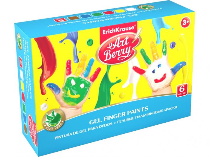Set Acuarele ArtBerry Finger Paints cu Aloe Vera 0
