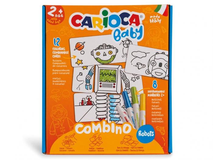 Set Creativ Carioca Baby Robots 0