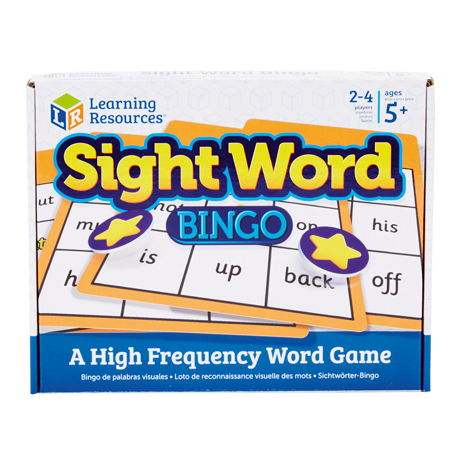 Sight Word Bingo 0