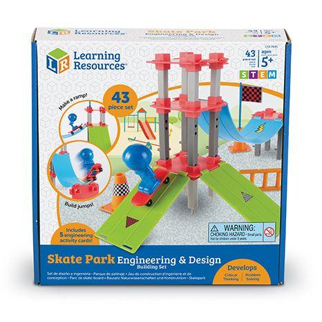 Skate Park Engineering & Design Building Set 0