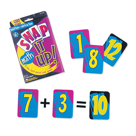 Joc Matematic Snap It Up!® Addition & Subtraction Card Game 0