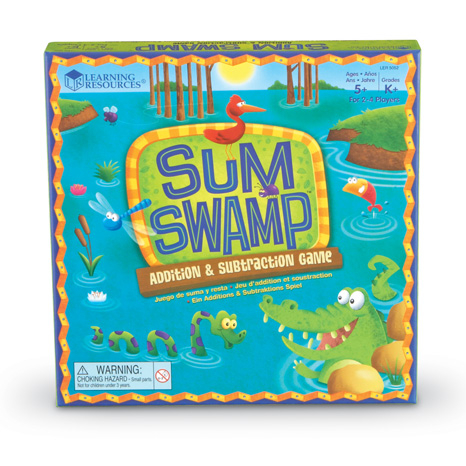 Sum Swamp™ Addition & Subtraction Game 2