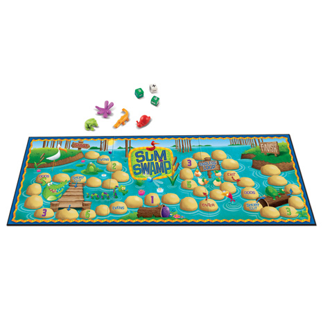 Sum Swamp™ Addition & Subtraction Game 3