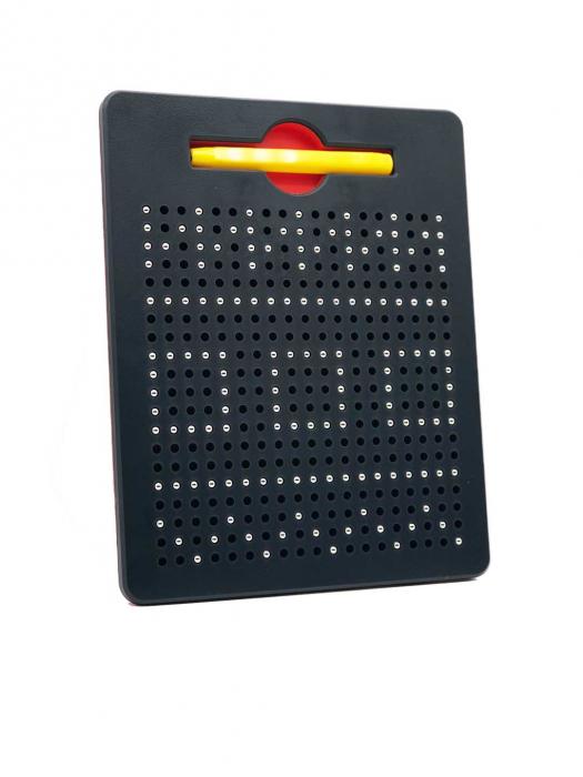 Tabla cu bile si creion magnetic Magnepad pentru pregatirea scrisului 0