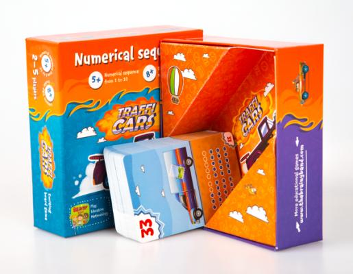 TRAFFICARS - Joc educativ Invatam numerele si antrenam memoria 2