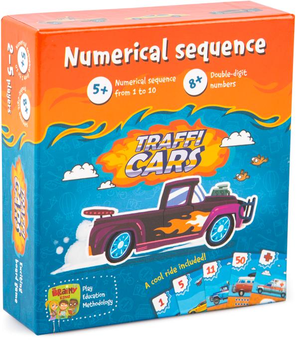 TRAFFICARS - Joc educativ Invatam numerele si antrenam memoria 0