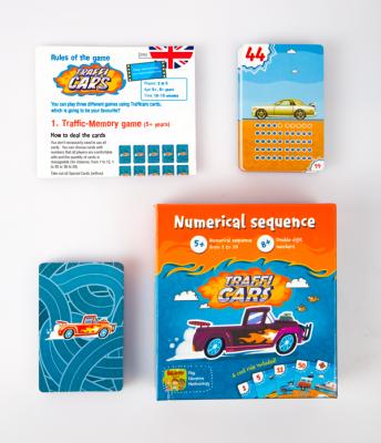 TRAFFICARS - Joc educativ Invatam numerele si antrenam memoria 4