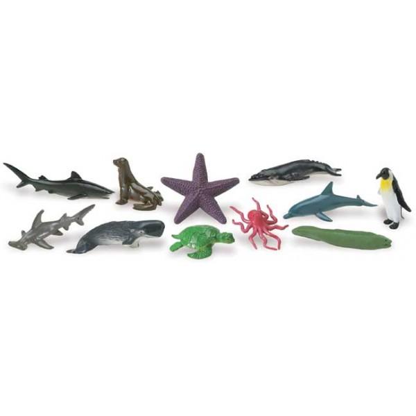 Tub 11 Figurine Animale si Fauna Oceanului [1]