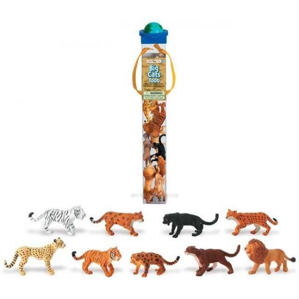 Tub 9 Figurine Feline Mari vopsite manual 0