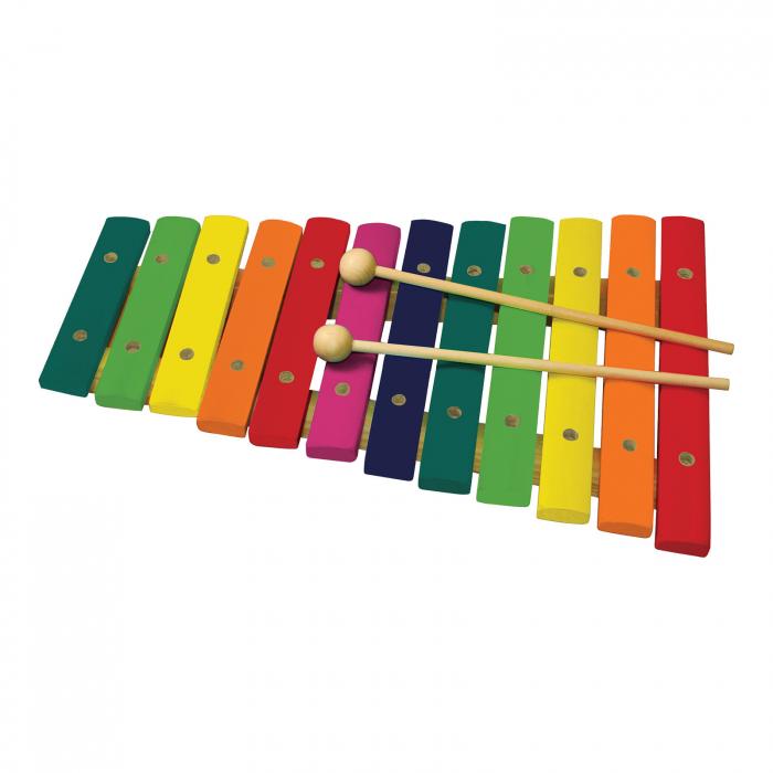 Xilofon Din Lemn Cu 12 Note 0