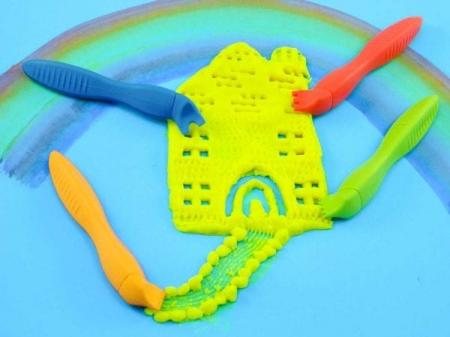 Forme si unelte pentru modelat plastilina 24 bucati2