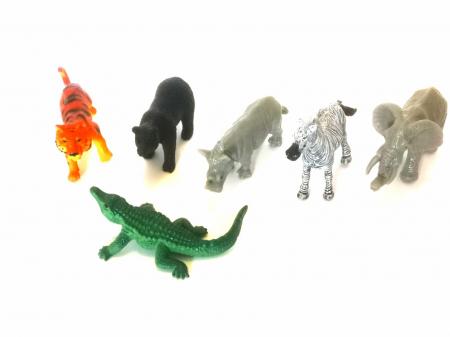 Covoras De Joaca Copii Pentru Podea Gradina Zoologica + 5 Figurine Cadou2