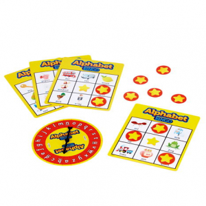 Joc Bingo Cu Doua Fete Alphabet Bingo0