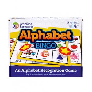 Joc Bingo Cu Doua Fete Alphabet Bingo2