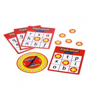 Joc Bingo Cu Doua Fete Alphabet Bingo1