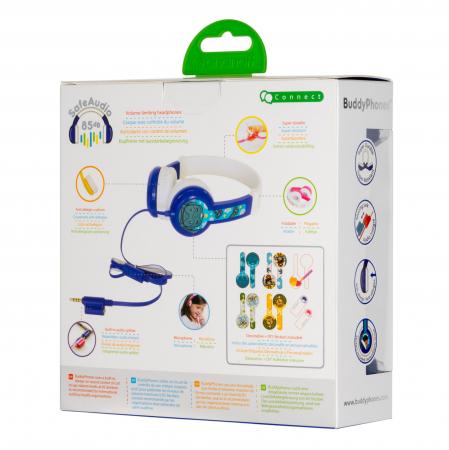 Casti Flexibile Pentru Copii Cu Reglare Nivel Volum Si Autocolante Connect1