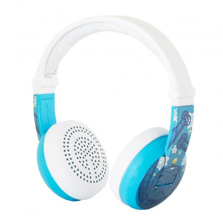 Casti Wireless Pentru Copii Cu Reglare Nivel Volum Si Autocolante Wave [2]