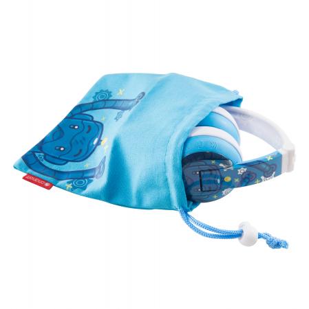 Casti Wireless Pentru Copii Cu Reglare Nivel Volum Si Autocolante Wave [5]