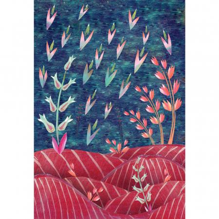 Cutiuta Muzicala Pentru Bijuterii Cu Suport Inele 'Ocean Floor' [5]