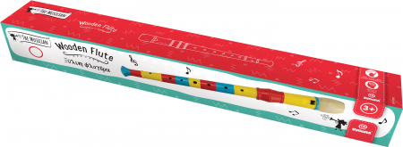 Fluier Colorat Din Lemn1