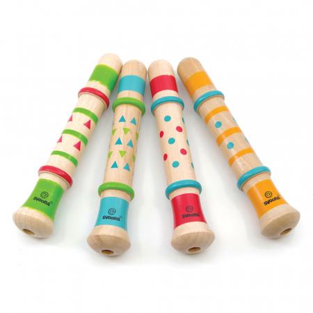 Fluier Multicolor Cu Sunet De Rata0