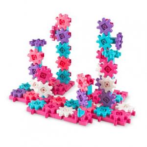 Gears Gears Gears!® Deluxe Building Set In Pink (Set of 100)0