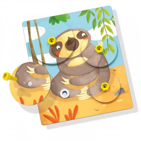 Joc Giro Puzzle Montessori Q06111