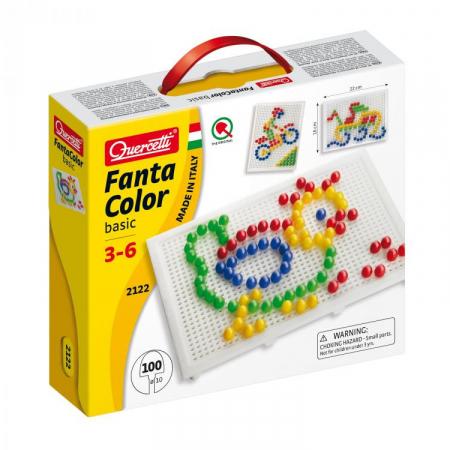 Jucarie Educativa Fantacolor 100 piese Q21220