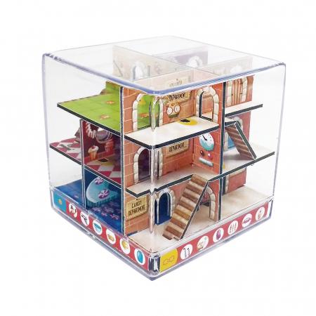 Labirint Din Lemn 3D - The Candy Factory Maze1