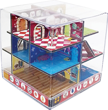 Labirint Din Lemn 3D - The Candy Factory Maze2