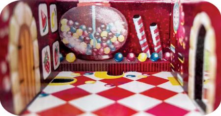 Labirint Din Lemn 3D - The Candy Factory Maze4