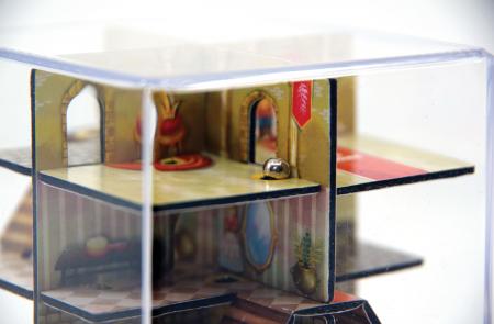 Labirint Din Lemn 3D - The Castle Maze3