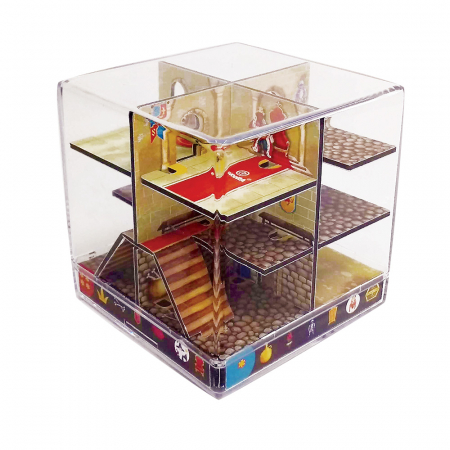 Labirint Din Lemn 3D - The Castle Maze1