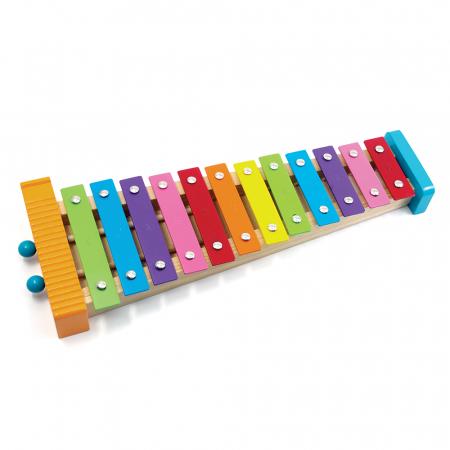 Metalofon De Jucarie Cu 12 Note Pentru Copii0