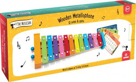 Metalofon De Jucarie Cu 12 Note Pentru Copii5