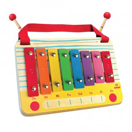 Metalofon De Jucarie Cu 8 Note Pentru Copii0