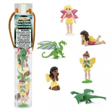 Tub 6 Figurine Dragoni si zane Safari Ltd [1]