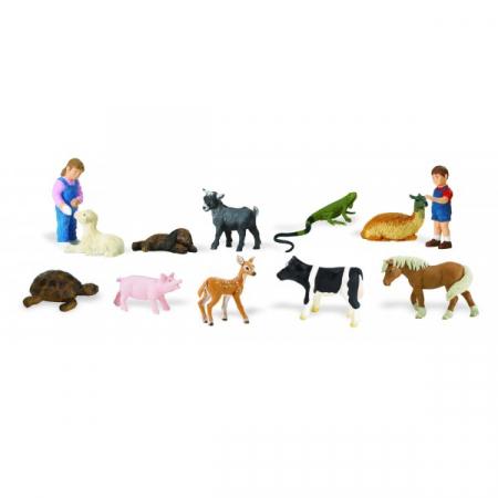 Tub 12 Figurine Animale Domestice [2]