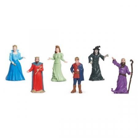 Tub 6 Figurine Personaje de Poveste - A fost odata2