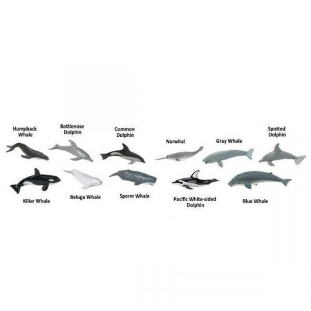 Set 48 figurine Balene si Delfini1