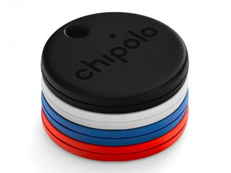 Set 4 Dispozitive inteligente de localizare Chipolo One - negru+alb+albastru+rosu, Bluetooth0