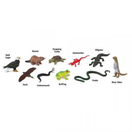 Set 48 Figurine Animale De Langa Rau [1]