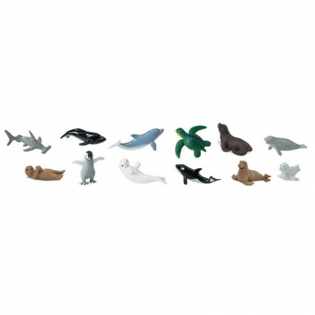 Set 48 Figurine Animale Pui Din Mare1