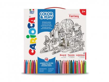 Set Creativ Color & Play Carioca Fantasy1