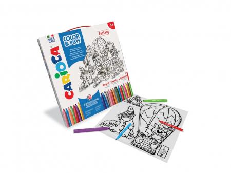 Set Creativ Color & Play Carioca Fantasy0