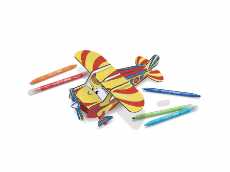 Set Creativ Create & Color Carioca Jet Junior 3D1