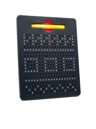 Tabla neagra cu bile si creion magnetic Magnepad pentru pregatirea scrisului0