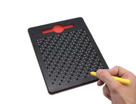 Tabla neagra cu bile si creion magnetic Magnepad pentru pregatirea scrisului1