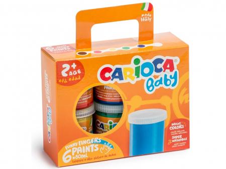Acuarele Baby Finger Paint Carioca [0]